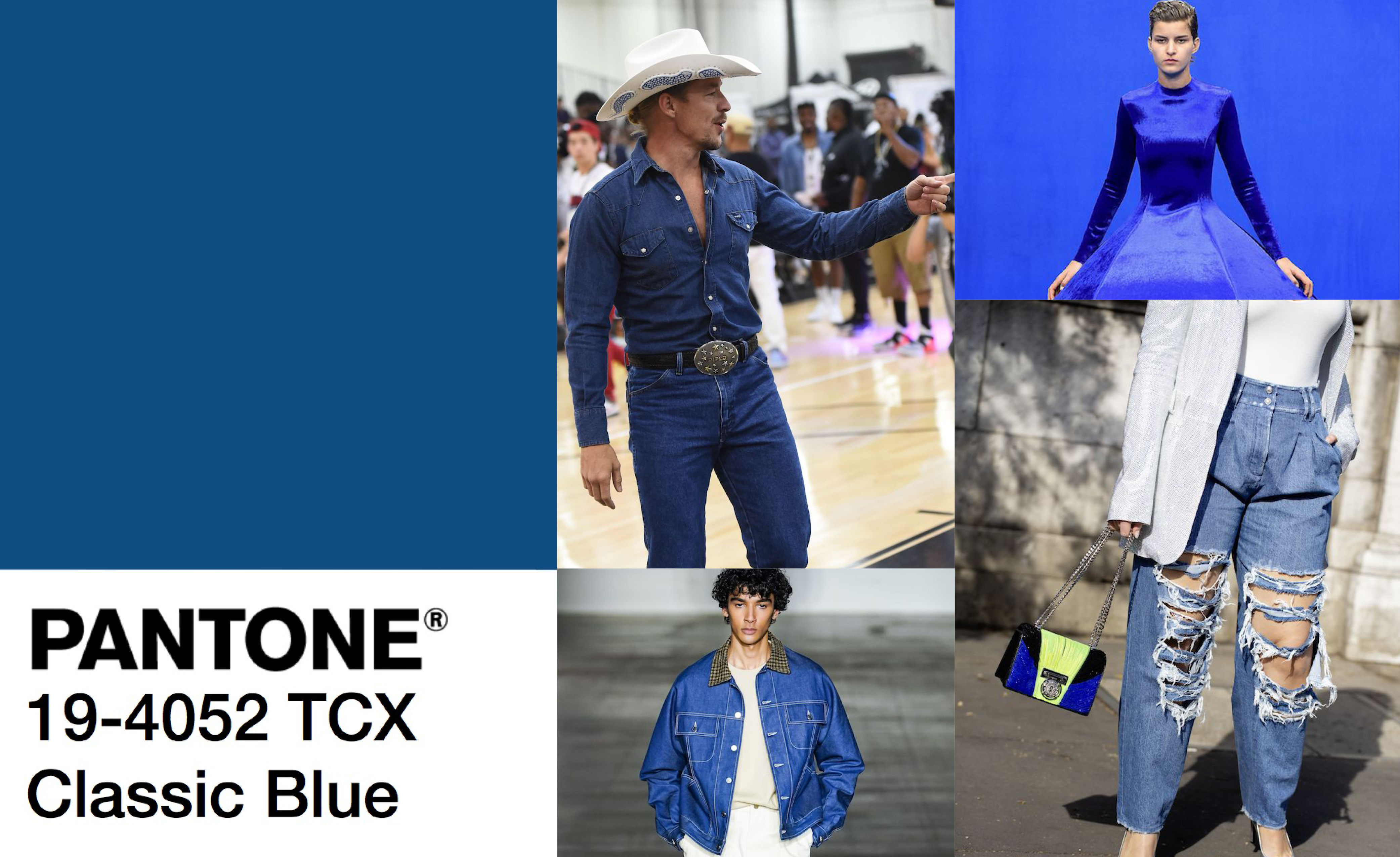 Classic Blue heats up fashion in 2020.