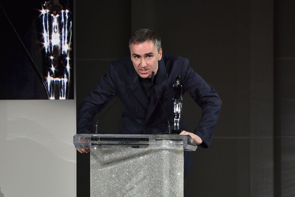 Raf Simons teased a new footwear line, (Runner), that will be inspired by sportswear and feature natural materials like leather and suede