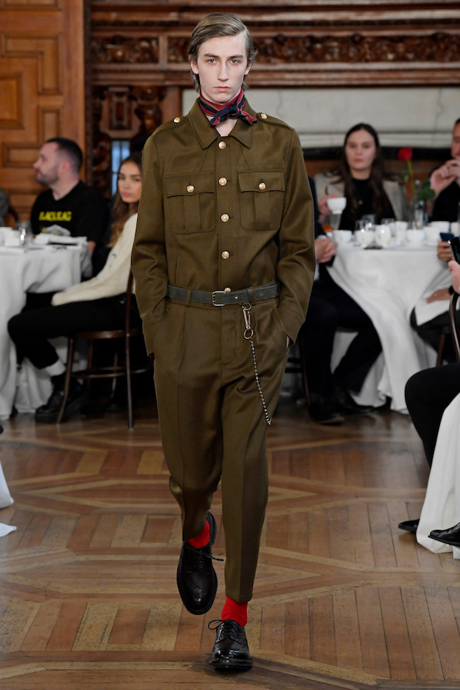 Military fashion is trending for Fall/Winter 20-21.