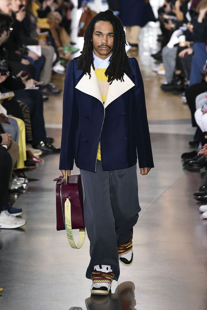 Wide lapels and rugby shirts trend up for Fall/Winter 20-21. Men's wear is getting re-educated in modern tailoring for Fall/Winter 20-21, according to trend forecasting firm WGSN at Project New York.