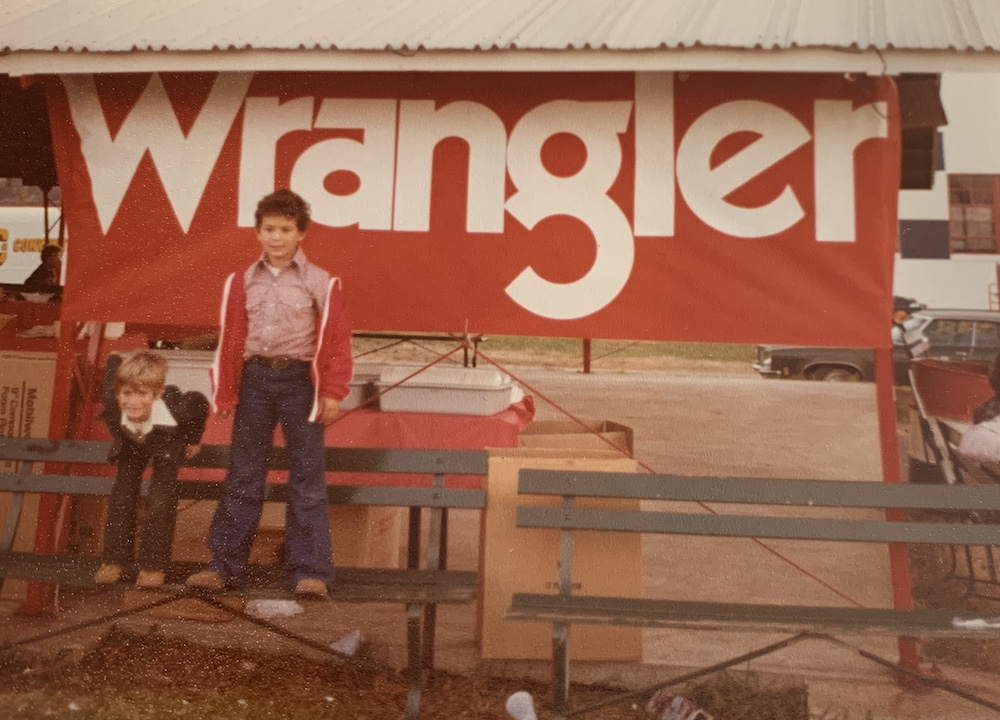 From Wrangler to Siddiqsons Group, denim veteran Matthew Fuhr, who wore Western wear as child, has photographic proof of his denim heritage.