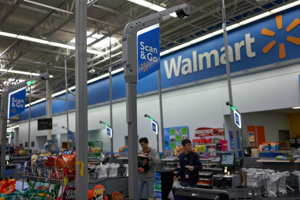 Walmart's new Florida location lets shoppers check out anywhere in store with the help of an associate, in addition to self-checkout lanes.