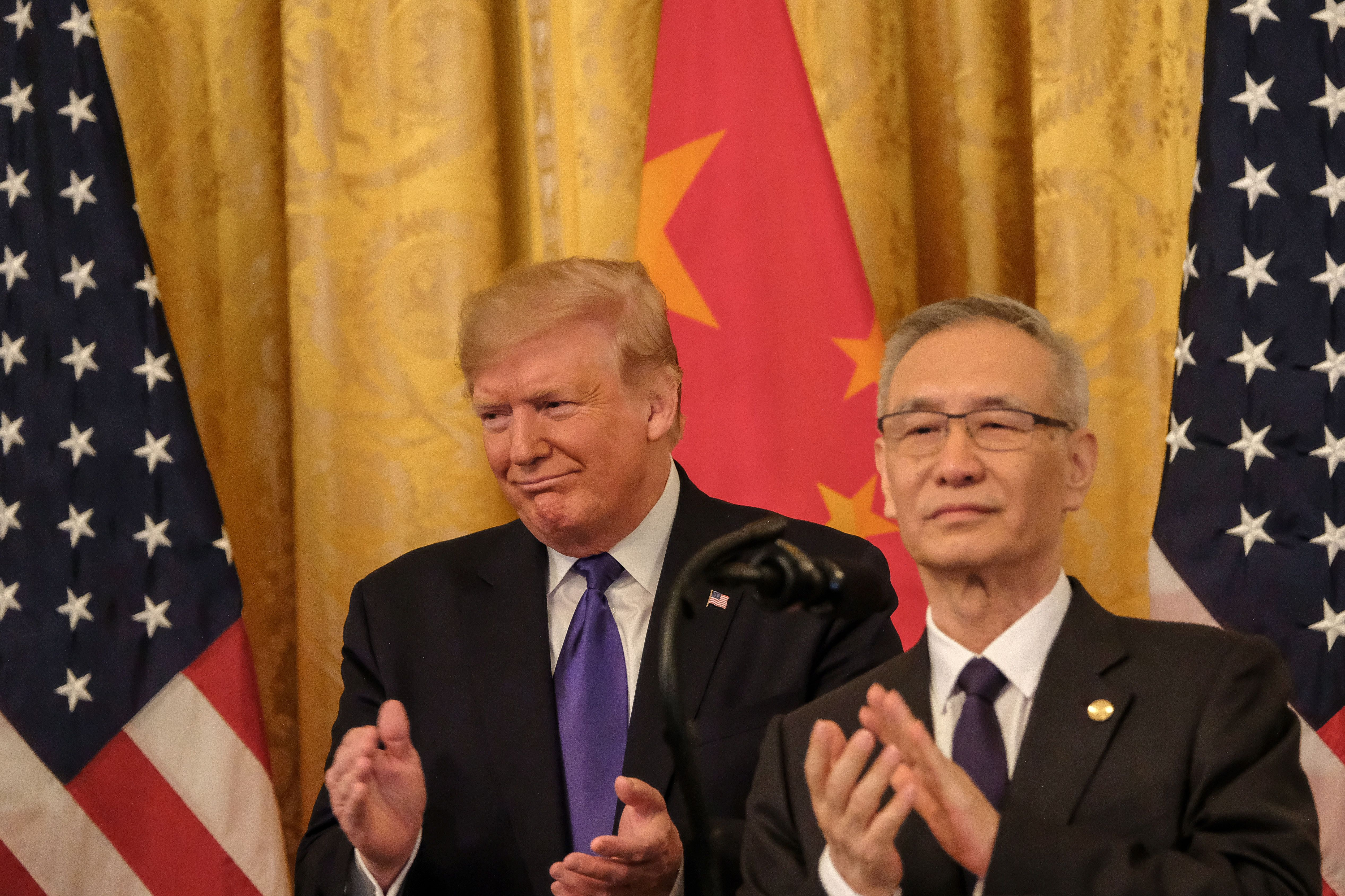 China agreed to cut its tariffs on $75 billion worth of U.S. goods imports as it looks to maintain its phase one trade deal commitments.