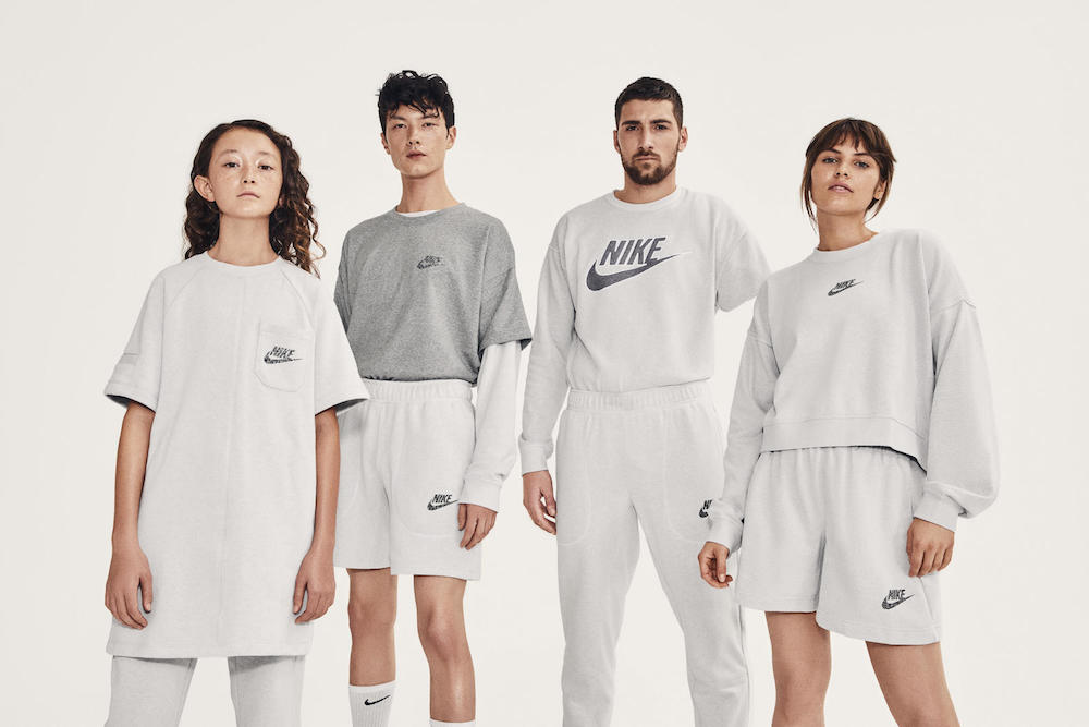 Nike's Move To Zero apparel collection uses recycled polyester, sustainable cotton, new dye techniques and 90 percent pattern efficiency.