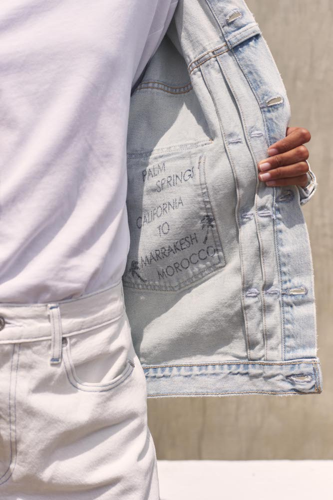 Levi's Made & Crafted denim collection channels California and Morocco.