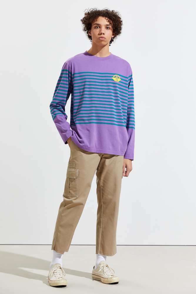 Dockers reintroduces the pleated chino to Gen Z.
