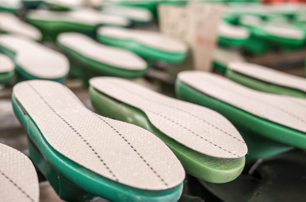 Trinseo Italian materials company API debuted a bio-based TPU for footwear at SICAM that offers greener and 60 percent faster production.