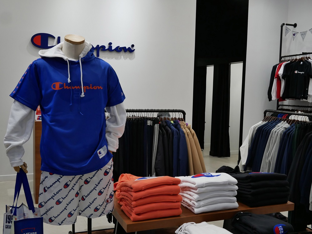 Cleaning up its financial picture, Hanesbrands saw sales dip in the fourth quarter on soft innerwear sales even as Champion stayed hot.