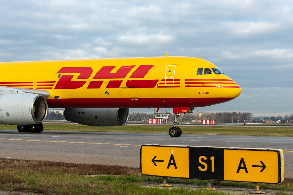 DHL said it's starting to feel troubling global effects of the coronavirus, notably in its Express and Global Forwarding units.