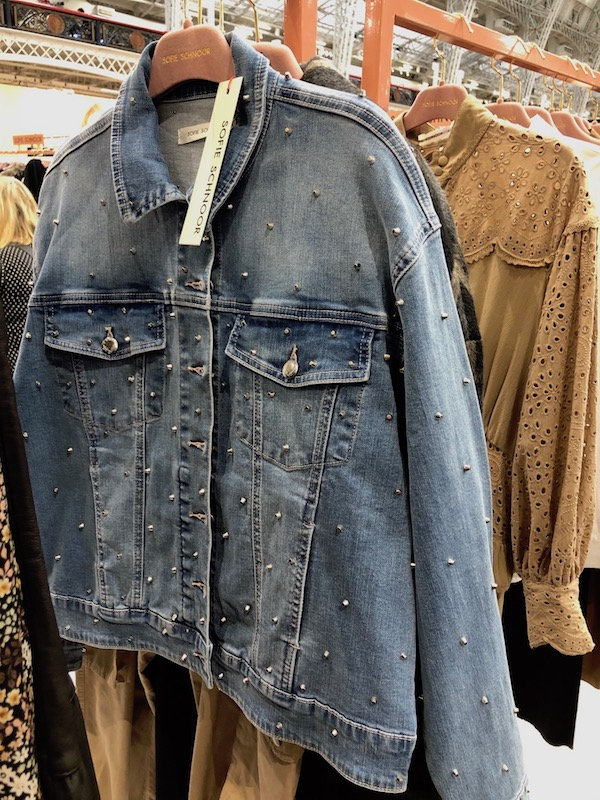 Embellished denim was on trend at Pure London.