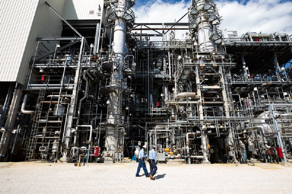 Invista said it continues to make progress on a planned 400,000-ton ADN plant at the Shanghai Chemical Industry Park in China.
