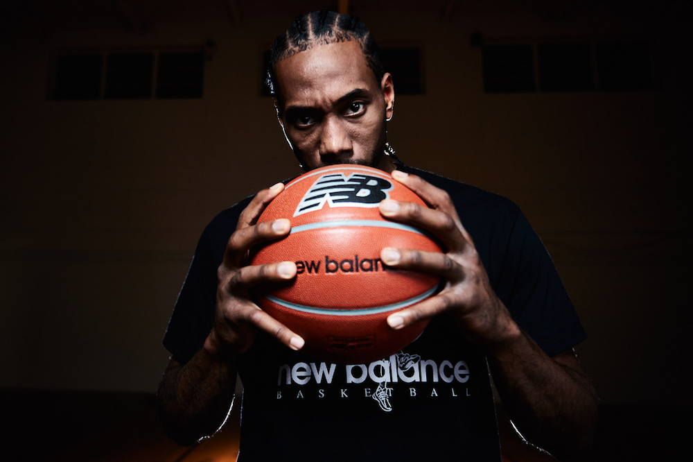 Following its Kawhi Leonard endorsement deal, New Balance inked a multiyear marketing agreement with the National Basketball Association.
