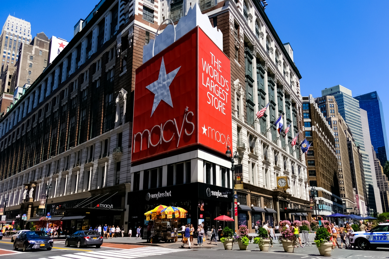 S&P Global Ratings cut the credit ratings of Macy's Inc. to junk status over execution risks connected with its turnaround plan.