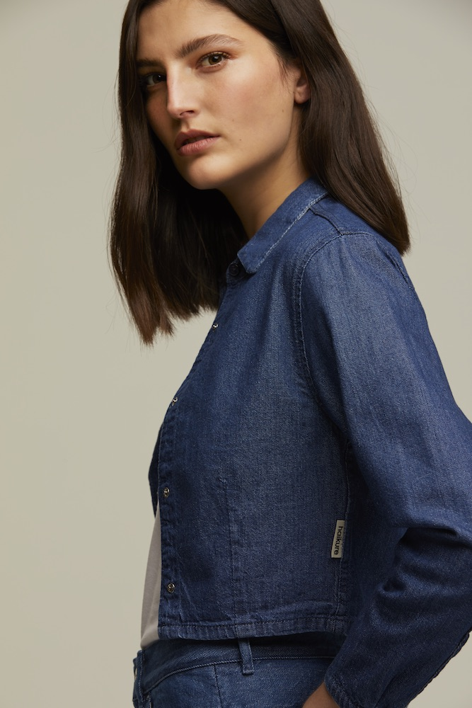 Isko fabrics are the foundation for two new responsible denim lines by Italian brand Haikure.