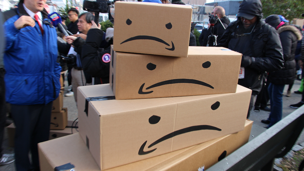 Consumers have mixed feelings on Amazon but still shop there for the free shipping, according to delivery experience management firm Convey.