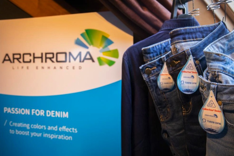 Global color and specialty chemicals company Archroma is joining The Denim Window to showcase its denim color and dye effects.