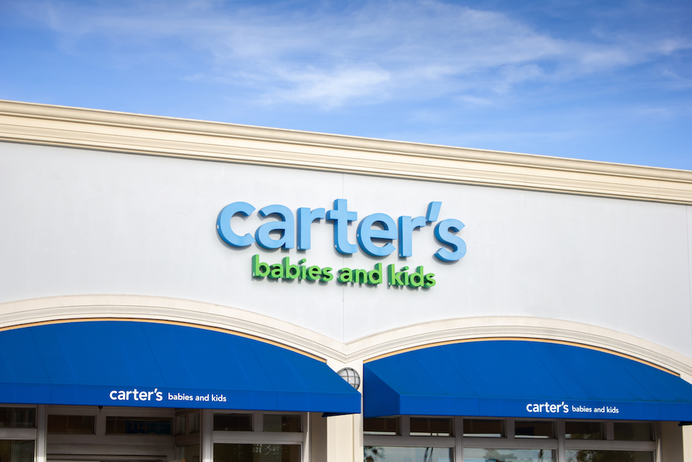 Children's wear chain Carter's says this year it'll source 15 percent of product from China, where the coronavirus is delaying production.