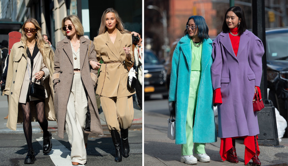 Colors and Neutrals Face Off at New York Fashion Week