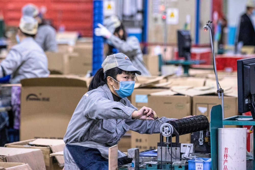 Factories in Xi'an, China have resumed production, but supply chains are struggling from a shortage of raw materials owing to coronavirus.