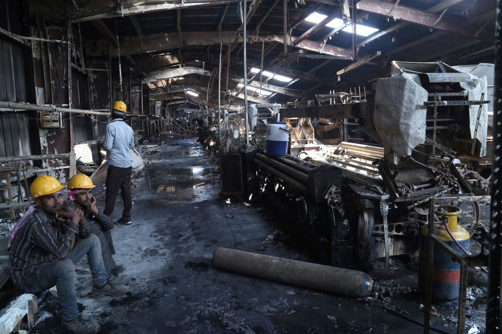 Two garment-factory fires in India that resulted in the death of three workers over the weekend show the urgent need for safety reforms.
