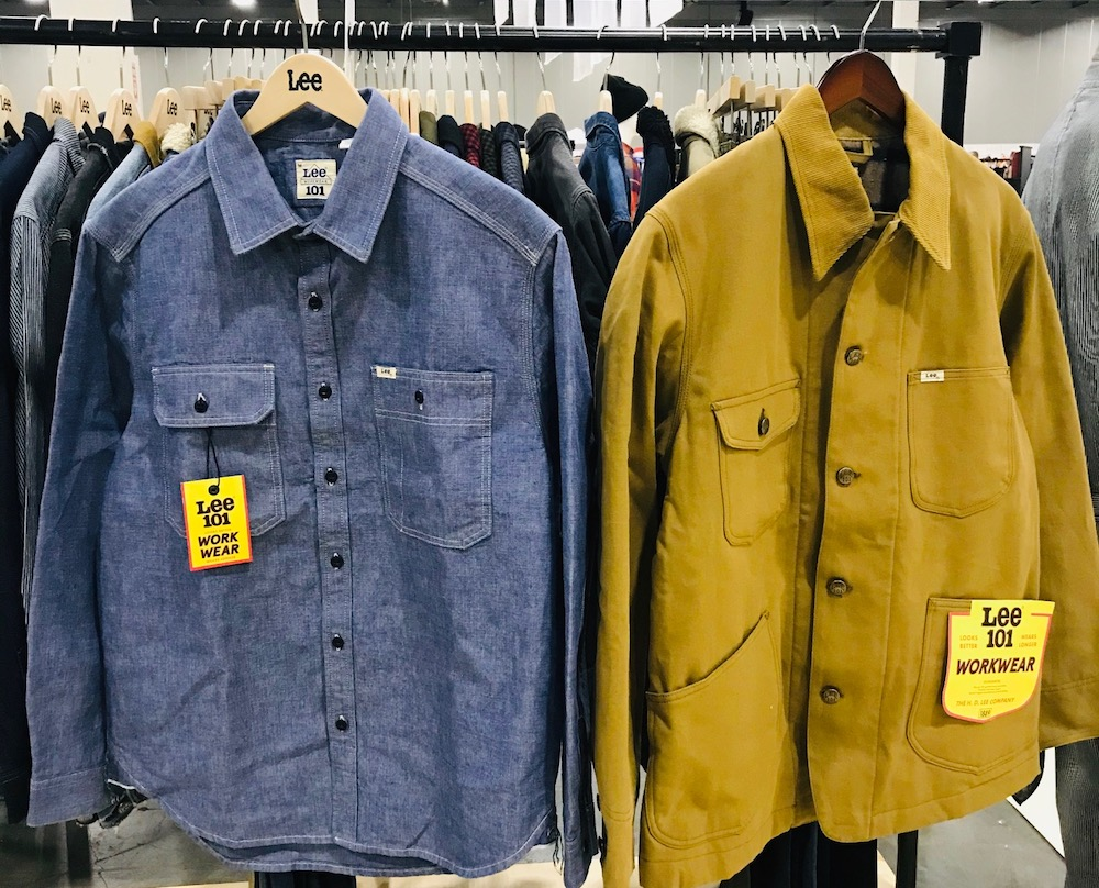 Workwear, selvedge stitching and heavyweight denim were all on display at Liberty Fairs Las Vegas, signaling a move back to heritage denim.