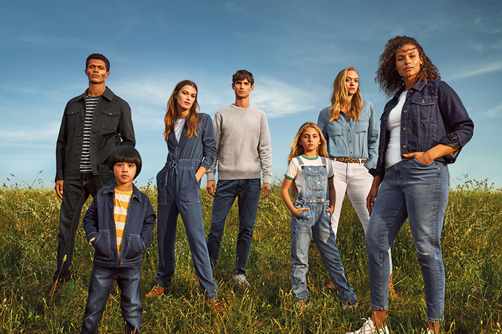 Marks and Spencer wants everyone to know the British department store retailer is a market leader in jeans, doubling its typical ad buy