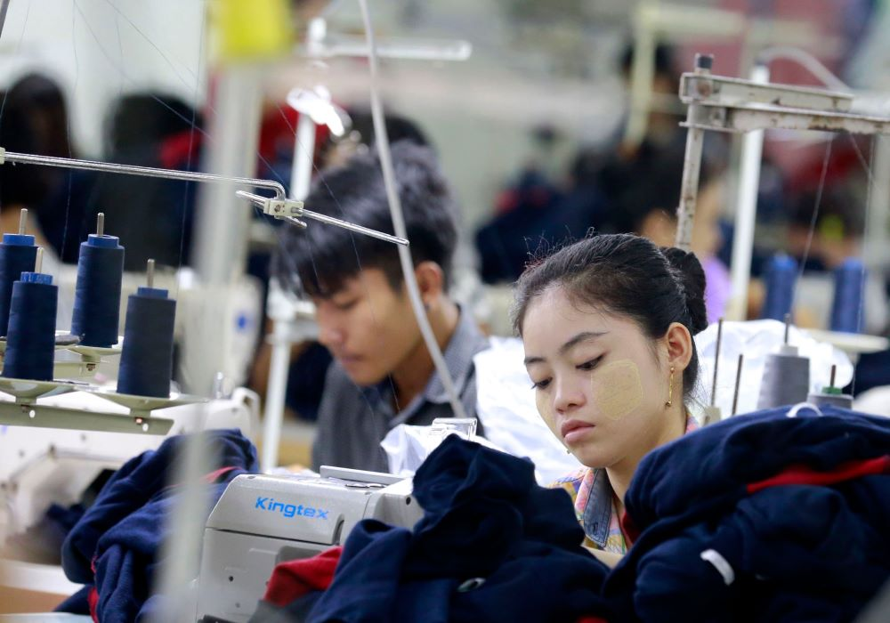 The coronavirus outbreak in China has choked off the flow of inputs to Myanmar garment factories, which could shut down if nothing changes.
