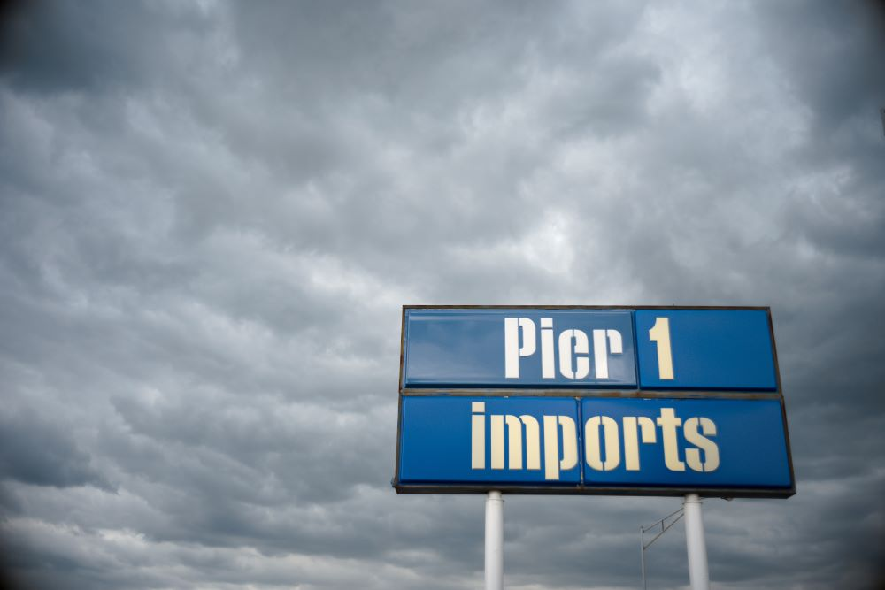 Pier 1 Imports is using Monday's bankruptcy filing to help with store closures and find a buyer as part of its plan to exit Chapter 11.