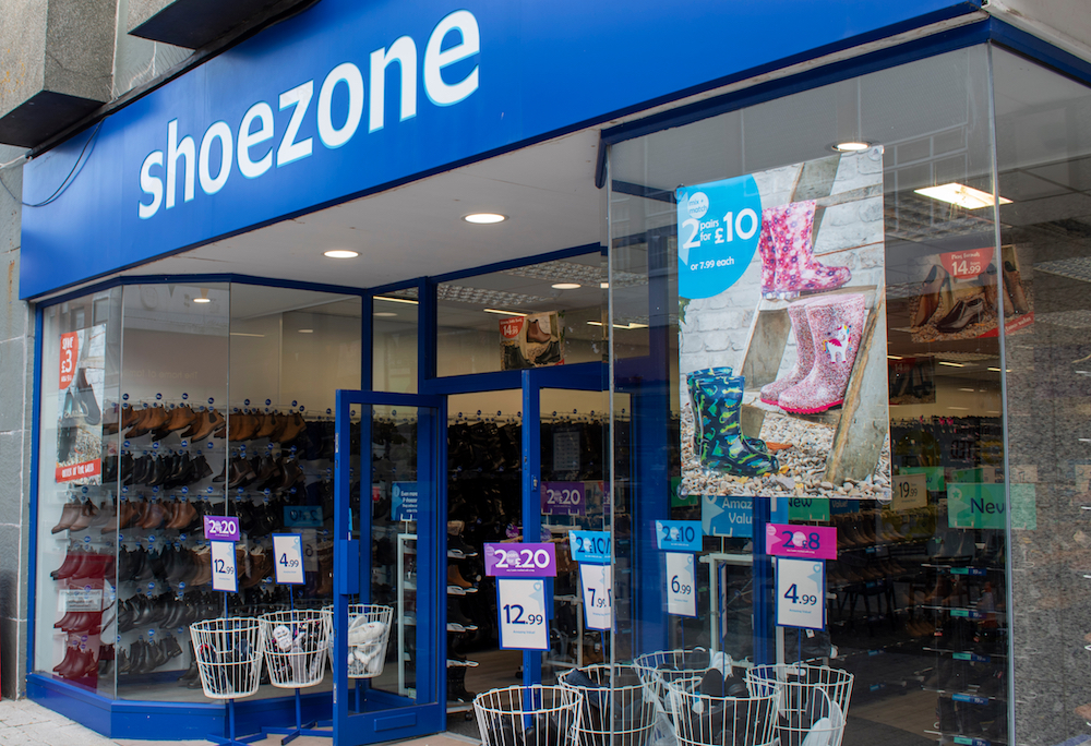 U.K. footwear retailer Shoe Zone may close 100 stores as high property taxes impact high street commercial centers and smaller retailers.