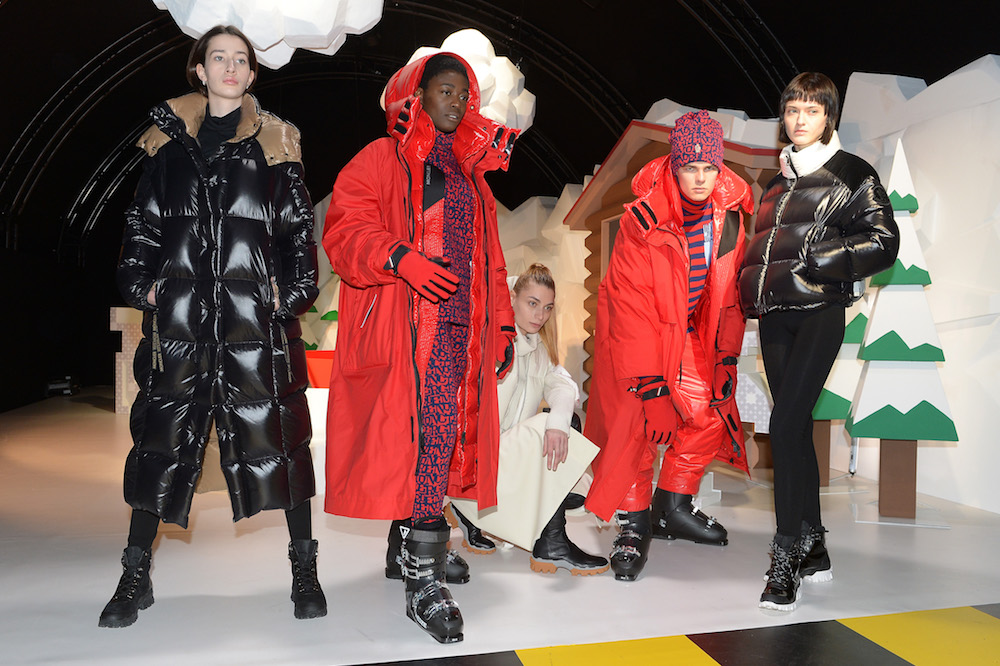 Moncler was among the functional and sustainable brands to rank on the Lyst Index.