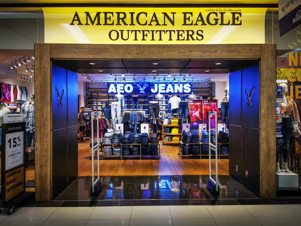 While American Eagle Outfitters saw revenue rise to a record $4.3 billion in the year, high markdowns and operating costs cut into profits.