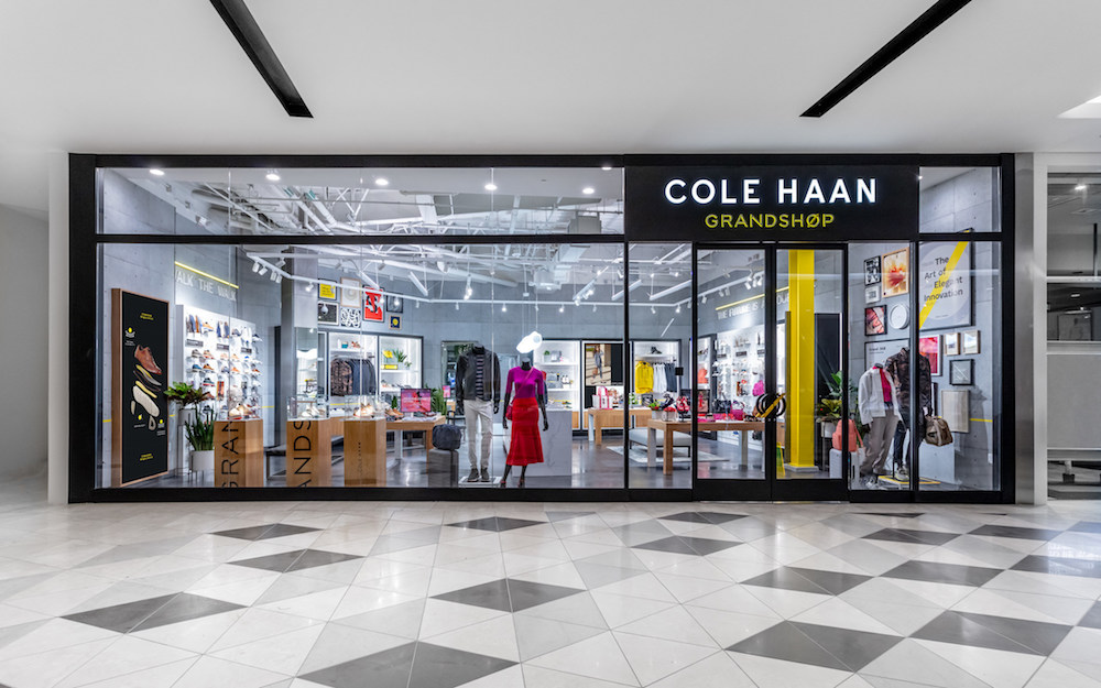 "Cole Haan's new concept store in Silicon Valley is built to be ""modular and mobile,"" leveraging technology like near-field communications."