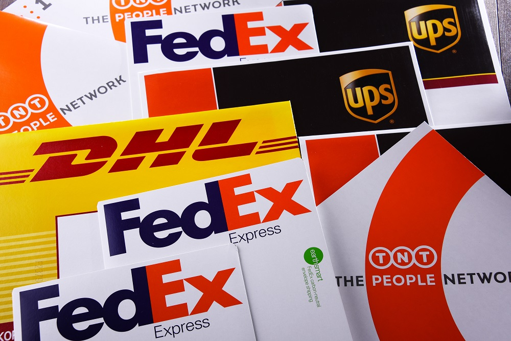 FedEx and UPS said they're balancing the health and safety of employees and customers with the need to provide important logistics support.