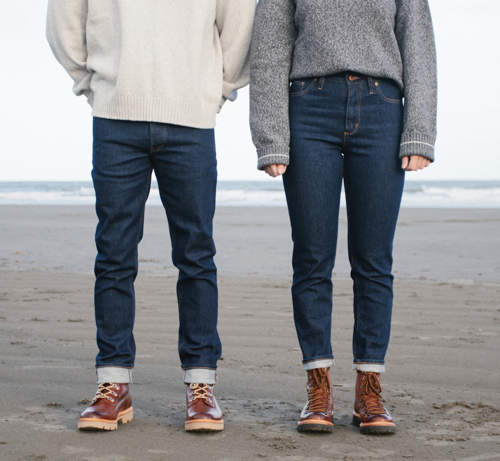 Hiut Denim Co.introduced a limited release of its first biodegradable stretch jean made with Italian mill Candiani's Coreva technology.