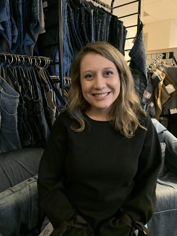 For young guns like Caitlyn Holt of Cone Denim's Elevate Textiles, denim's heritage is more than worth hanging on to–it's simply crucial.