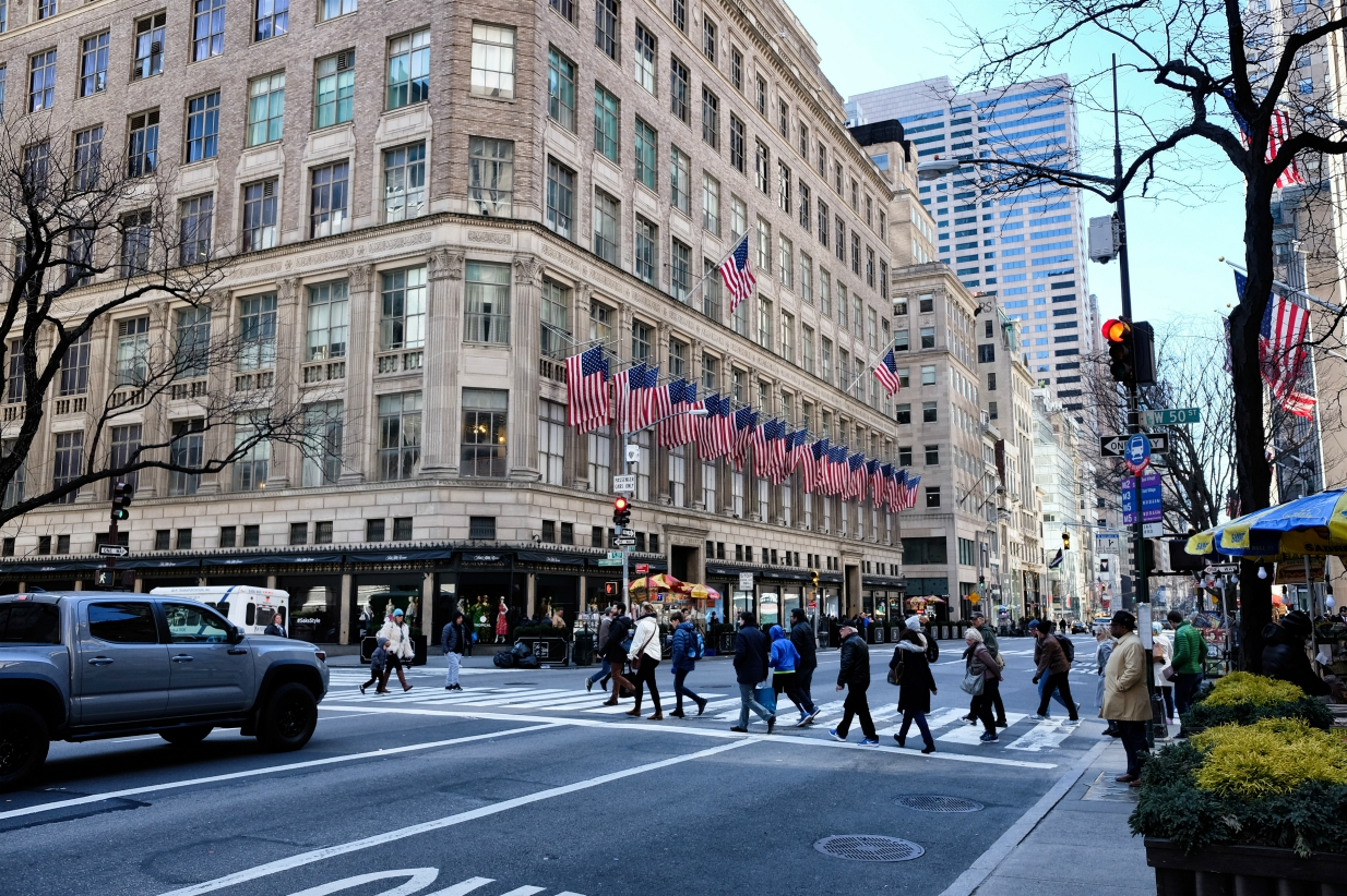 Hudson's Bay Co., parent to Hudson's Bay and Saks Fifth Avenue, completes a take-private deal as chairman Richard Baker takes on CEO role.