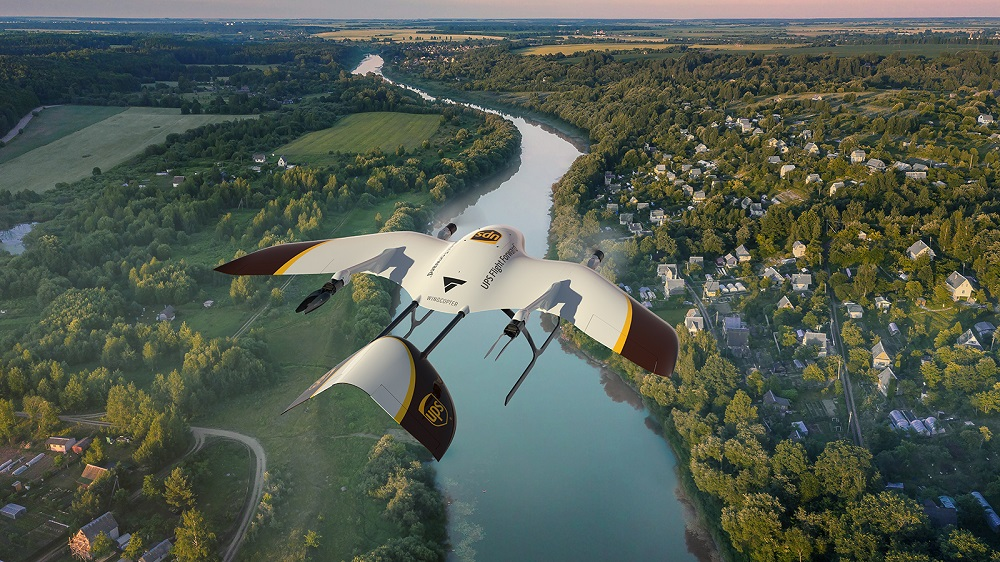 UPS Flight Forward is collaboraing with drone-maker Wingcopter to develop the next generation of package delivery drones.