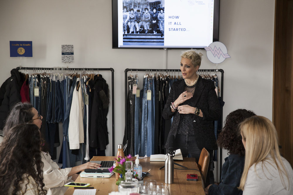 The Women In Denim event in New York City.