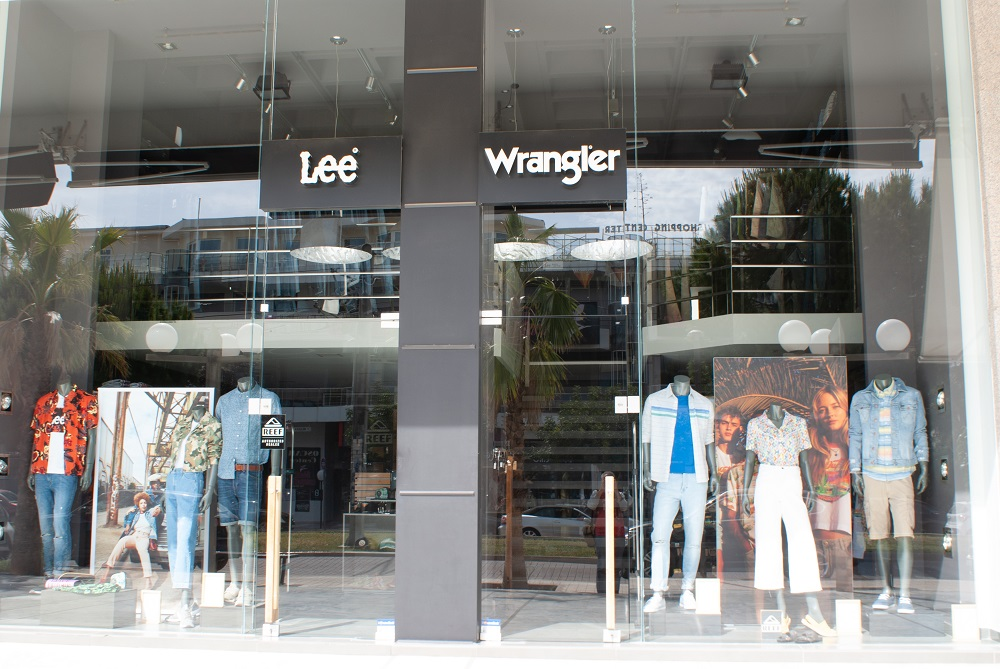 Kontoor Brands' Wrangler and Lee stores closed Wednesday across North America and Europe in response to the global coronavirus pandemic.