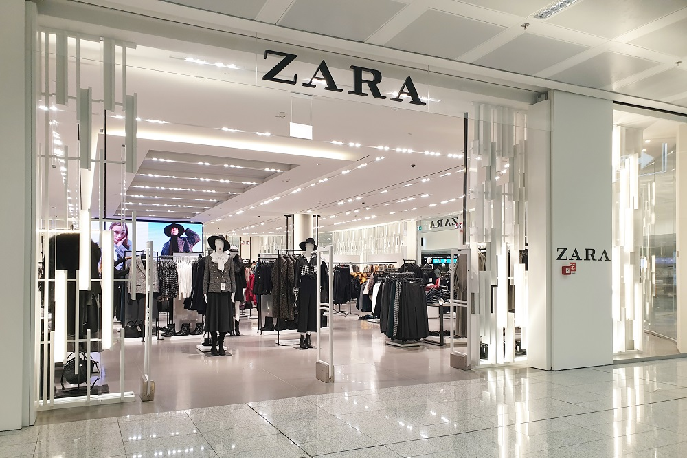 Zara parent Inditex scored sales and profit gains in fiscal 2019 though sales plunged 24.2 percent in the first two weeks of March alone.