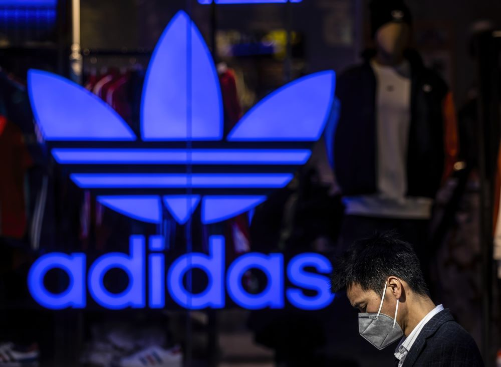 Adidas could lose $1 billion in China revenue as a result of disruption from the COVID-19 pandemic.