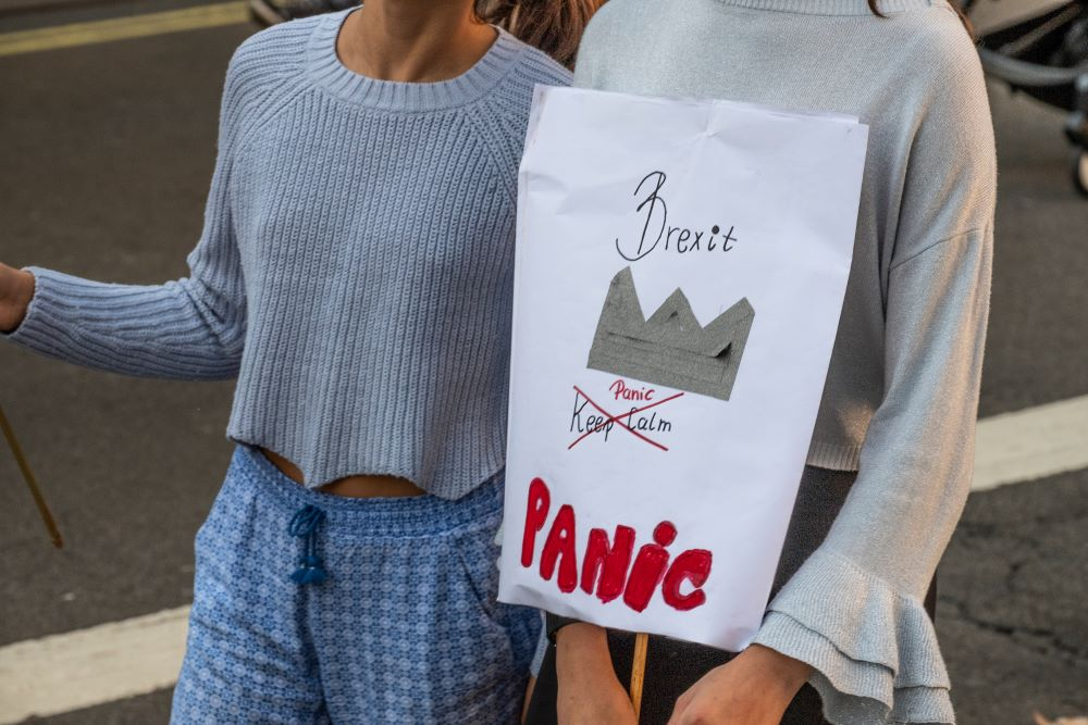 British fashion has been unambiguous in its condemnation of Brexit, with 96 percent of fashion workers voting to remain in 2016.