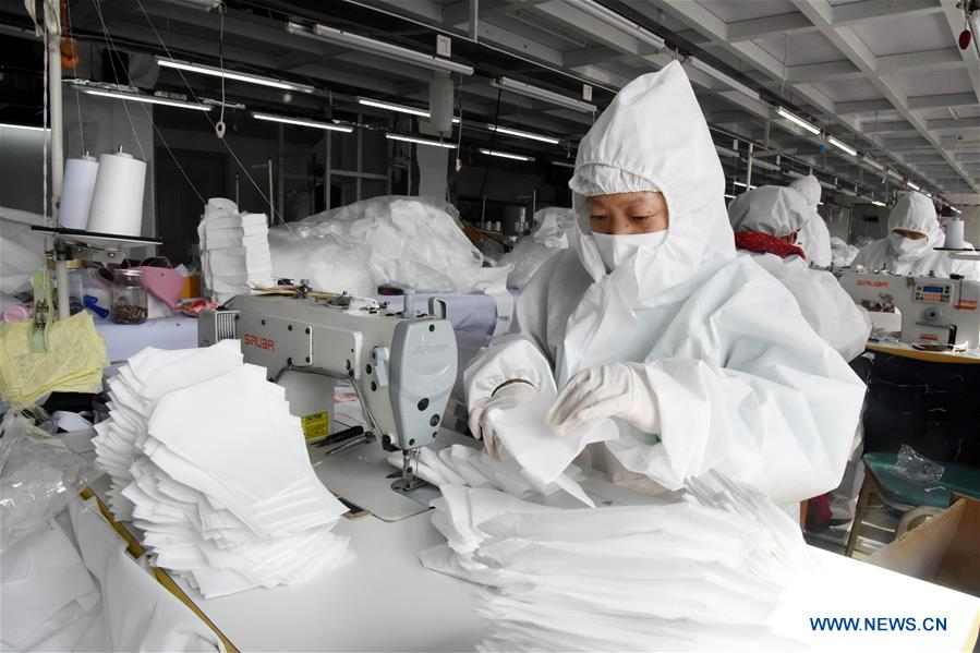 The Ruyi Group, along with its peers, has redirected manufacturing capacity to produce protective materials in the fight against coronavirus.