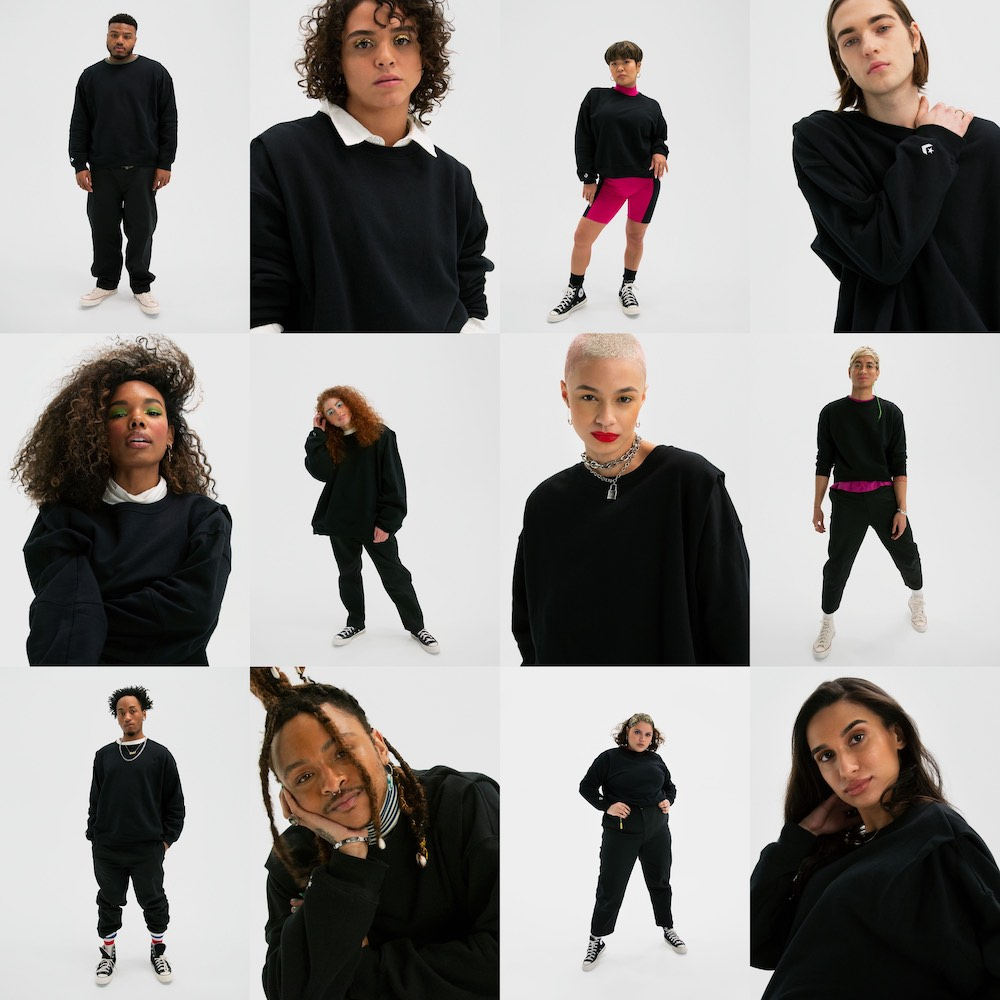 Footwear brand Converse will launch Shapes, its first apparel line, featuring genderless styles in four sizes according to body shape.