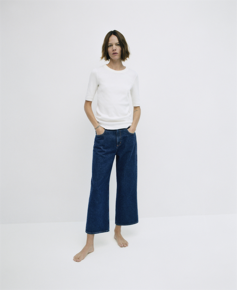 Owned by Hennes and Mauritz, fashion brand Cos launched a sustainable denim collection using responsibly sourced 100 percent organic cotton.