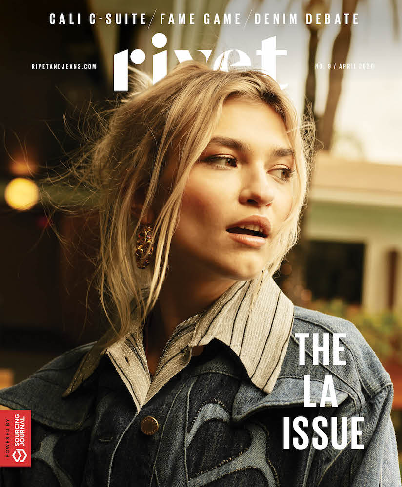 Rivet magazine examines the lingering appeal of L.A. denim and how the city is poised to become the center of the industry's green future.
