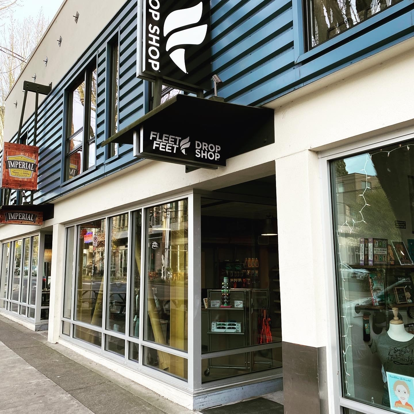 Portland, Ore.'s Fleet Feet Drop Shop retail concept has no inventory but offers 3D foot scanning technology and free two-day shipping.