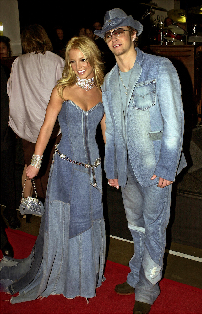 Justin Timberlake Defends Famous Denim Suit Worn With Britney Spears   Sourcing Journal