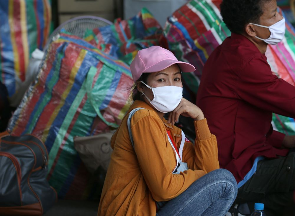 Amid the coronavirus pandemic, millions of workers in garment-producing nations from India to Thailand are finding themselves stranded without jobs.