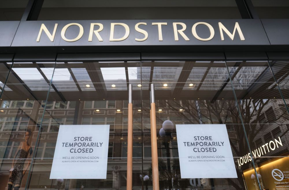 The pain of the pandemic has Seattle-born Nordstrom extending store closures, pruning corporate headcount for six weeks and pausing CEO pay.